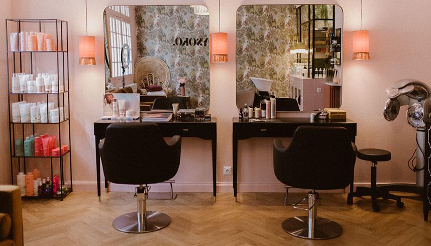 Mysoko - Salon de coiffure privé à Nice - Fauteuils